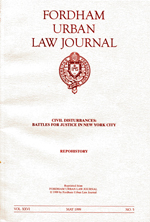 REPOhistory: Fordham Urban Law Journal 1999<